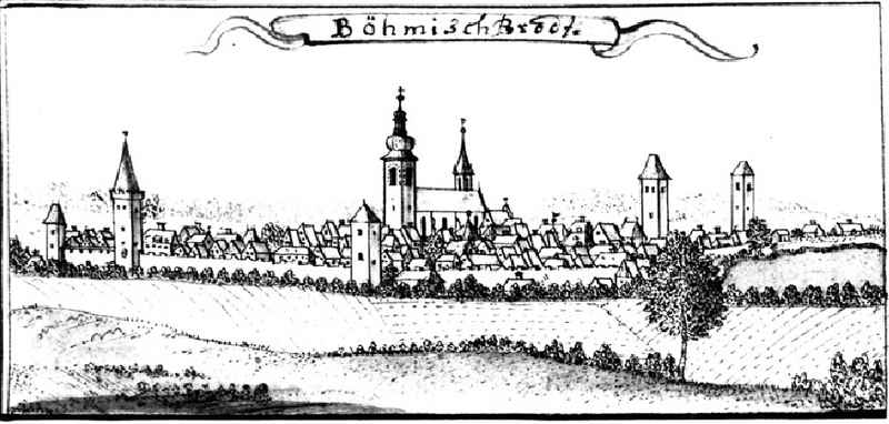 Český Brod 1750